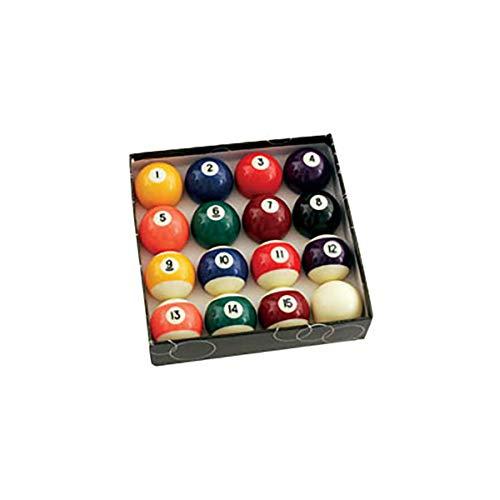 Standard Pool Ball Set w 2-1/4
