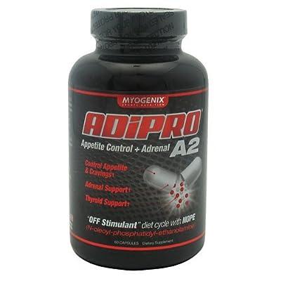 Myogenix Adipro A2 Appetite Suppressant Capsules, 60 Count