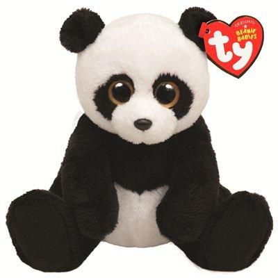 Amazon.com  Ty Beanie Baby Ming Plush - Panda  Toys   Games f6d02a3874b