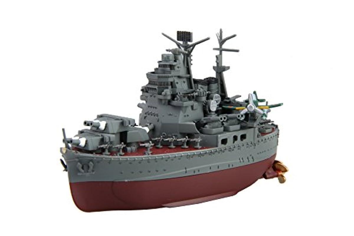[해외] 후지미 모형 꼬마(치비)호 함대 시리즈SPOT NO.23 아퍼터고 시험 nipper 부착 세트 전장 약11CM non-scale 색분할 프라모델  꼬마(치비)호SP23