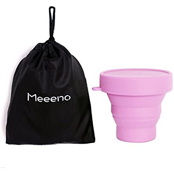Meeeno Esterilizador De Copa Menstrual Silicona De Grado ...
