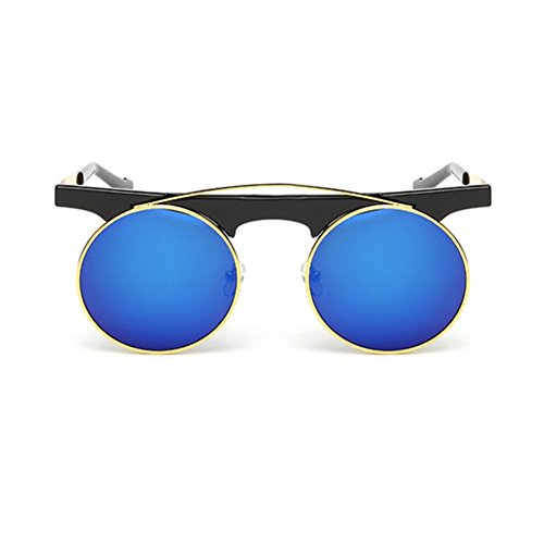 Hikote #5009 Summer Round UV 400 Protect Eye from Ray - Varifocal Sunglasses Boots