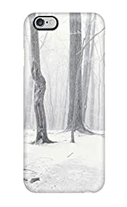 AmandaMichaelFazio Scratch-free Phone Case For Iphone 6 Plus- Retail Packaging - Winter Earth Nature Winter Kimberly Kurzendoerfer