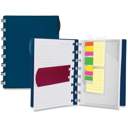 Ampad Versa Crossover Ruled Spiral Notebook - 60 Sheet - 24 lb - Ruled - 6