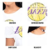 Ultra Game Women's NBA Soft Vintage Jersey Tee