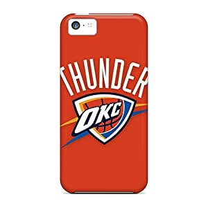 Perfect Cell-phone Hard Covers For Iphone 5c (UnK7007Nouu) Provide Private Custom Stylish Nba Oklahoma City Thunder 2 Series