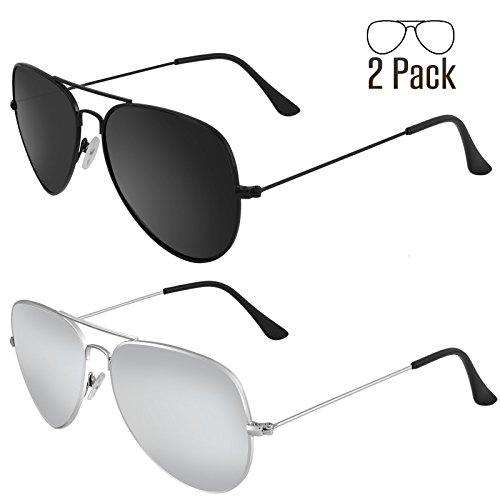 Livhò Sunglasses for Men Women Aviator Polarized Metal