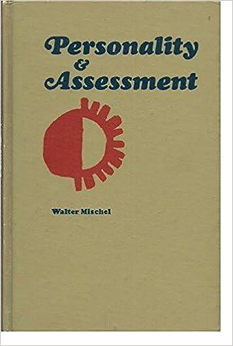 Personality and Assessment / Mischel / by Walter Mischel