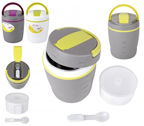 Food Themo Flask Lunch Box Easy Carry UMKY