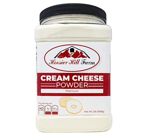 Hoosier Hill Farm Cream Cheese powder, 2 Lb., Hormone ()