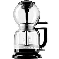 Cafeteira de Sifão Automática KitchenAid KXA08AE Onyx Black 1.18L 110V