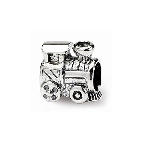 Gold Solid 10k Train (PriceRock Sterling Silver Reflections Kids Train Bead)