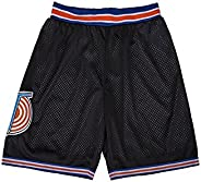 EKANBR Youth Basketball Shorts Moive 90s Space Sports Jam Pants for Kids(5-12Years),90s Theme Hiphop Party Jer