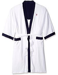 Men s Waffle-Weave Kimono Robe fd962651c