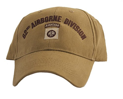 82nd Airborne Division Coyote Brown Low Profile Cap