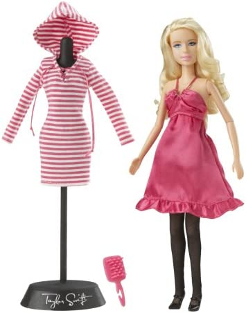 Amazon Com Jakks Pacific Taylor Swift Pretty In Pink Fashion Collection Doll Toys Games