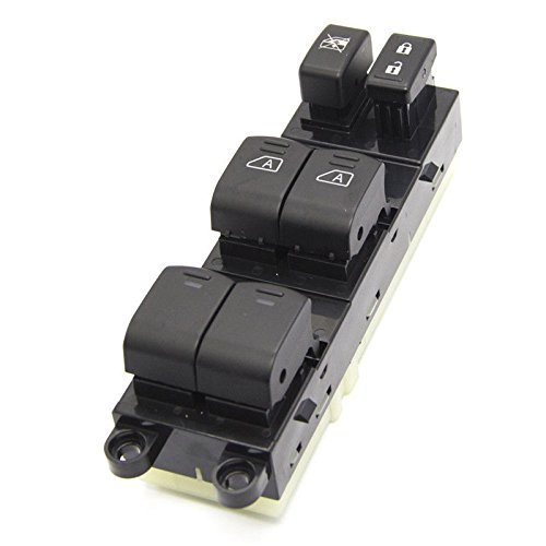 Electric Left Driver - MILLION PARTS Electric Power Window Master Control Switch Front Left Driver Side for 2007 2008 2009 2010 2011 2012 Nissan Pathfinder