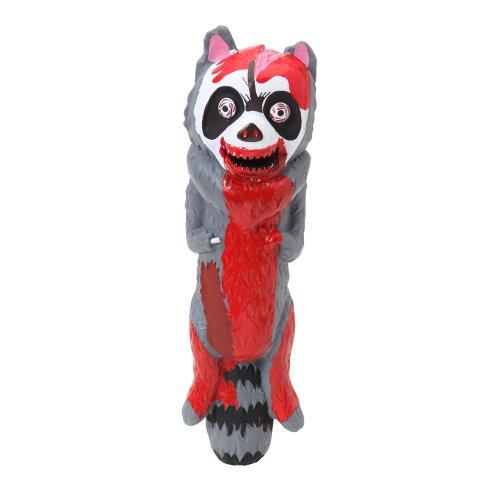 Dogit Vinyl Dog Toy, Zombie Raccoon