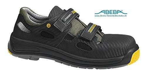 ABEBA ESD Sicherheitssandale 1275-41 -S1 SRA - schwarz ESD-gerecht