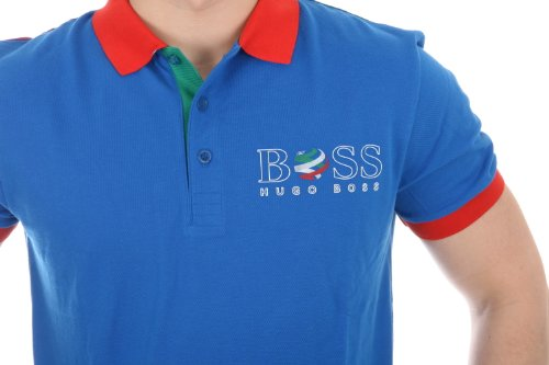 Hugo Boss Paddy Flag Jersey Polo Shirt (50260461-611)