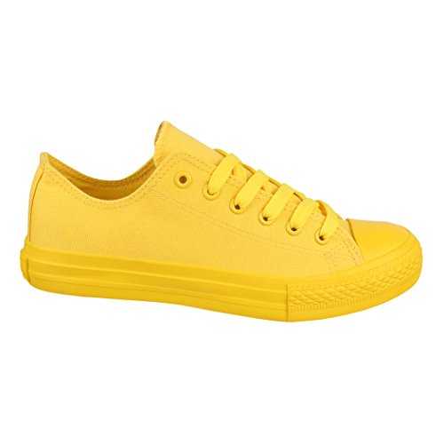 Gelb one colour donna Sneaker Elara qBRw1HZxW7