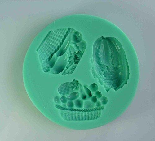 Fruta con forma de Chocolate Candy de medio balón de 3d de ...