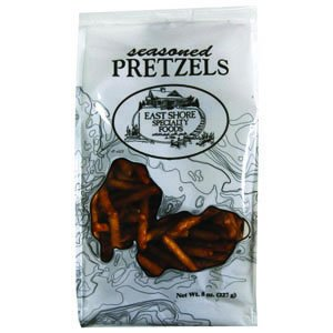 East Shore Pretzel, Seasoned, 8-Ounce Bags (Pack of 12)