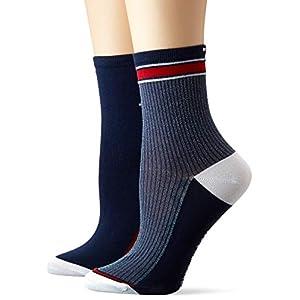 Tommy Hilfiger Women's Calf Socks, (Pack of 2)