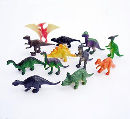 Dinosaurs Mini Figure Animals Toy (12 Count)
