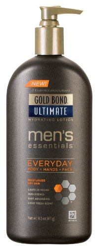 Everyday Essentials Lotion Gold Bond hommes, 14,5 onces