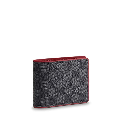 Louis Vuitton Damier Graphite Canvas Multiple Wallet N63260 (Louis Vuitton Damier Graphite)