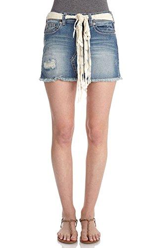 WallFlower Juniors Denim Skirt in Laura Size: 0