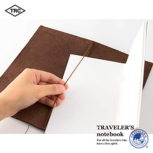 Travelers Notebook Brown Leather (1, 1 LB) by Xekia (Image #7)