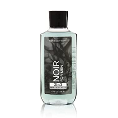 Bath Body Works Noir for Men 10.0 oz 2 in 1 Hair Body Wash