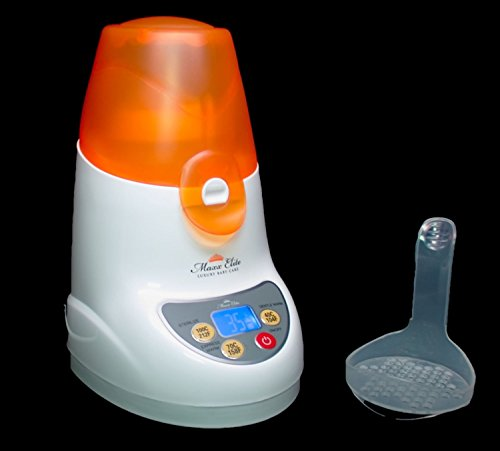 Maxx Elite ''Digital Gentle Warm'' Bottle Warmer & Sterilizer w/''Steady Warm'' and LCD Display (Orange) by Maxx Elite (Image #8)