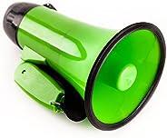 Sugar home Portable Megaphone Bullhorn 20 Watt Power Megaphone Speaker Voice and Siren/Alarm Modes with Volume