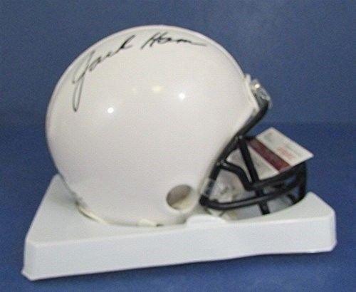Jack Ham Autographed/Signed Penn State PSU Mini Helmet Steelers JSA W600902 ()