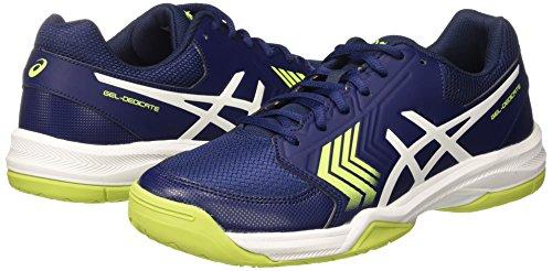 5 bleu De dedicate Indigo Jaune Asics Chaussures Hommes Scurit Blanc Bleu Tennis Gel 1tq8CBxw
