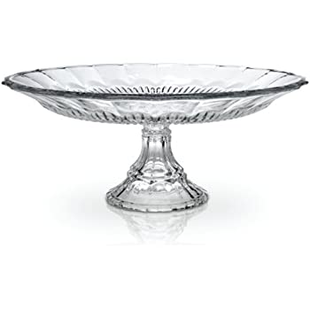 Mikasa Bella Court Glass Footed Cake Plate