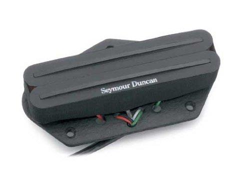 Seymour Duncan STHR-1b Hot Rails Tele Pickup - Black Lead