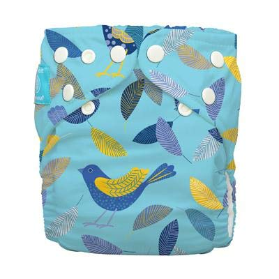 Twitter Birds Charlie Banana Organic Nappy Diaper All in One