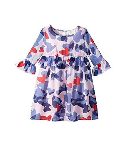 Kate Spade New York Kids Baby Girl's Confetti Hearts Dress (Toddler/Little Kids) Confetti Hearts 3