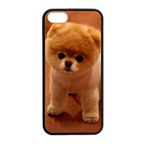 Custom Cute Lovely Boo Dog 03 Phone Case Cover For Iphone 5, 5S