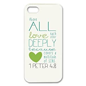 Bible Verse Case for Iphone 5 Petercustomshop-IPhone 5-PC00535