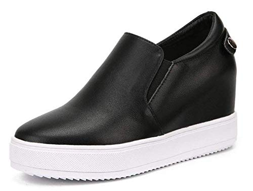 Cuir Eu coloré De 40 Noir Taille Oudan Chaussures Noir Les ZTqaw6xP
