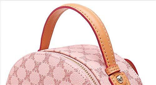 Pvc Large Bag Backpacks Fashion Lady Capacity Sweet Travel Jiushiguang Casual Backpack Purple qx4wXcTY