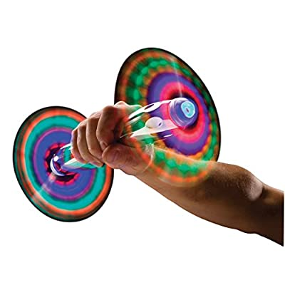 Can You Imagine Fantastic Hand Held 2 Headed Light Show: Toys & Games
