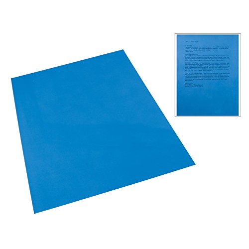 Plastic Tinted Reading (Dark Blue Tinted Plastic Reading Sheet)