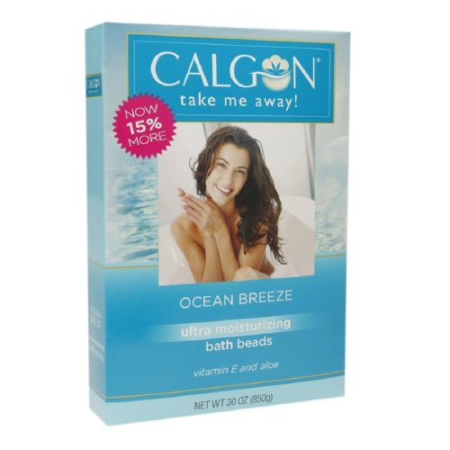 (Calgon Ultra Moisturizing Bath Beads 30 Oz (Ocean Breeze, Pack of 3))