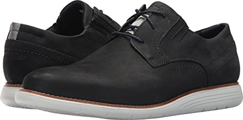 Rockport Mens Total Motion Sports Dress Plain Toe New Dress Blues Nubuck 10.5 M (D)